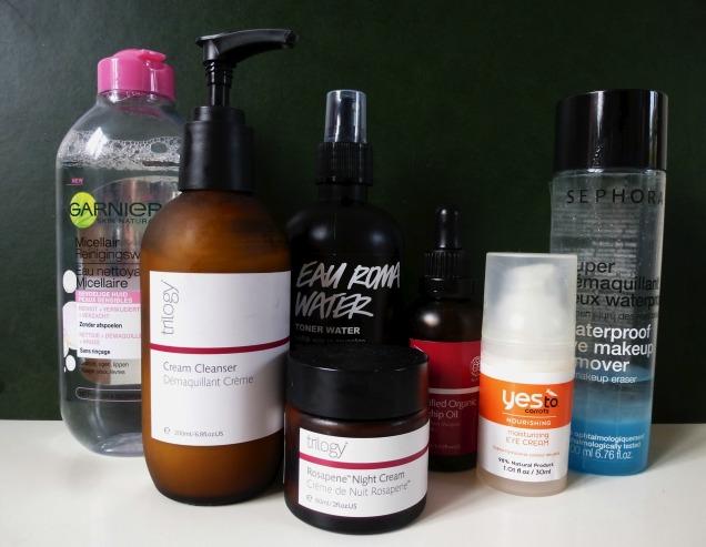 skin routine pm