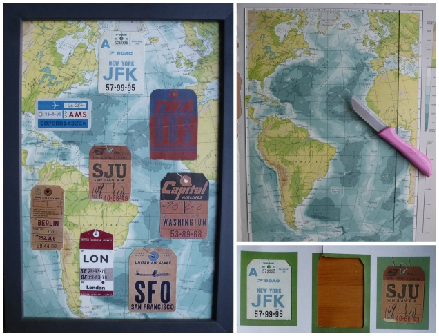 vintage travel tags gift