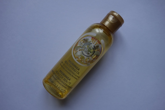 body shop moringa oil