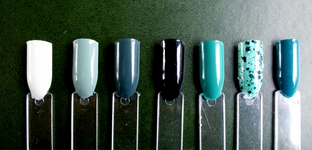 green nail polish collection2.jpg