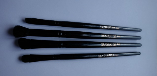 makeup revolution eye shadow brushes set 3