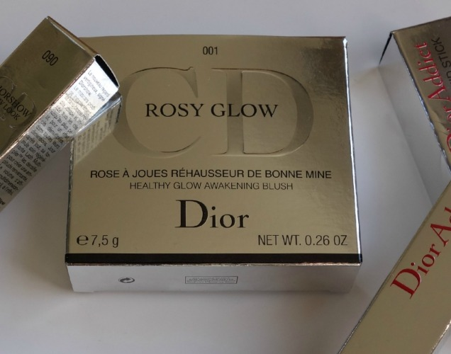 dior rosy glow packaging