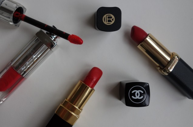 favorite lippy - red
