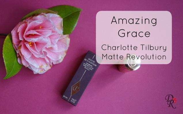 Charlotte Tilbury Amazing Grace text