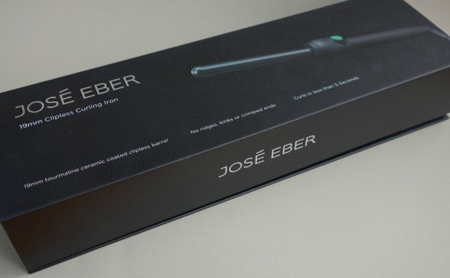 Jose Eber 19mm clipless curling iron