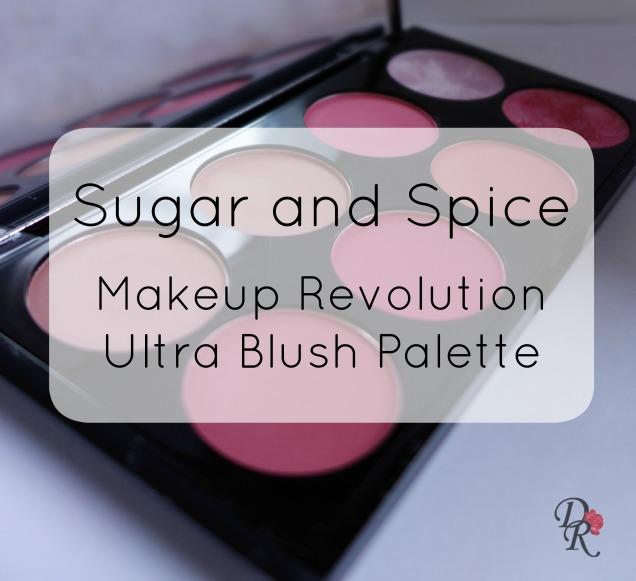 Makeup Rev Blush Palette sugar and spice title