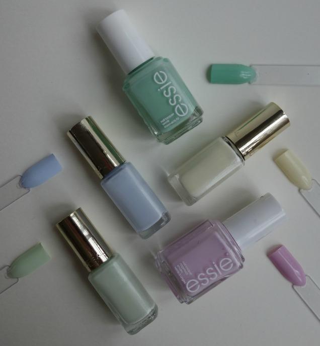 pastel spring nails essie loreal