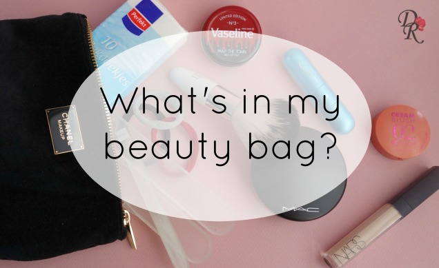 What's in my beauy bag text