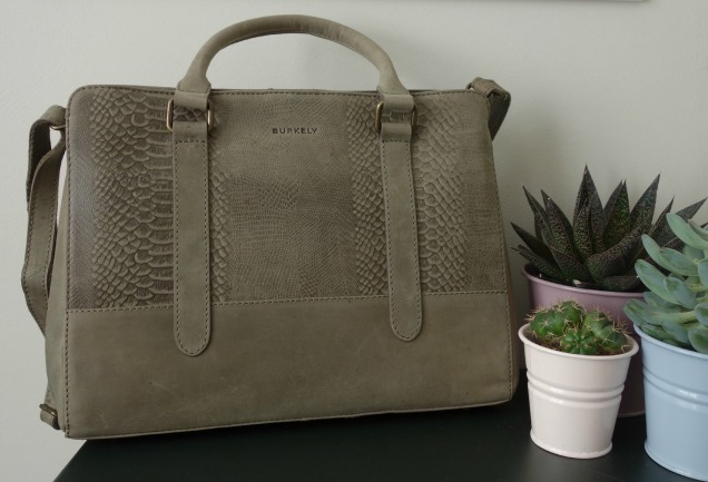 Burkely Filippa Bag Sage (1)