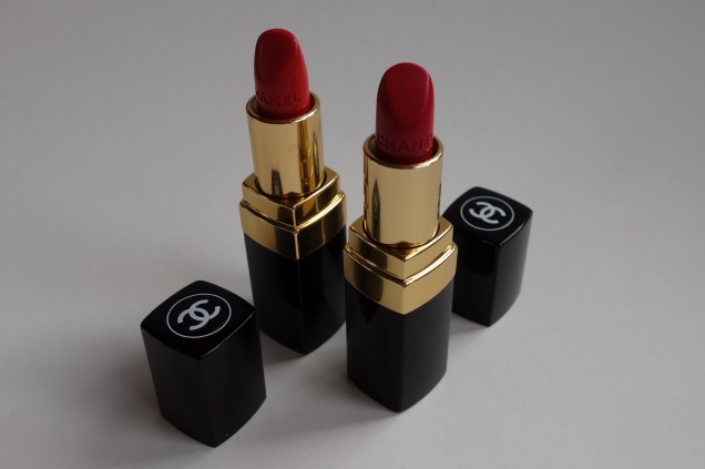 chanel rouge coco in arthur and dimitri lipstick