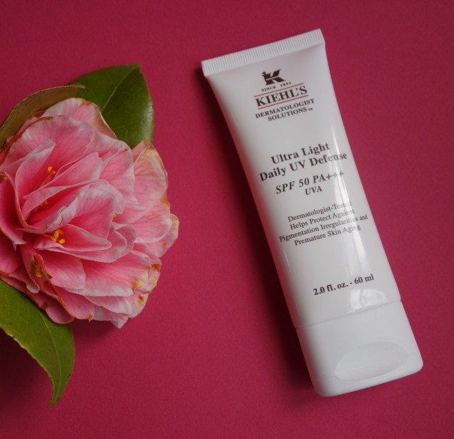 Kiehl's Ultra Light Daily UV Defense SPF 50 facial sunscreen
