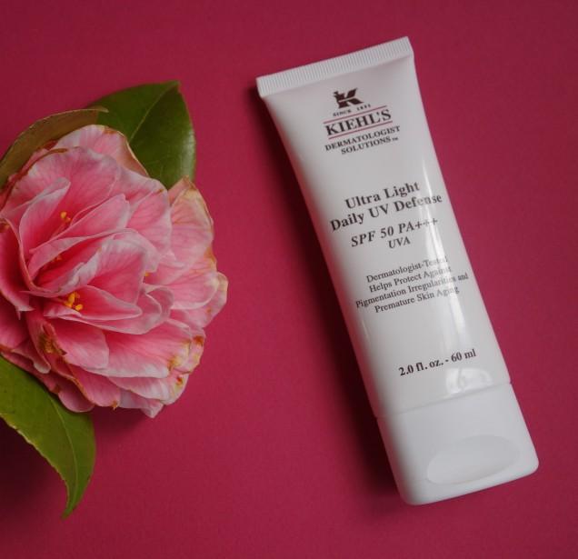 Kiehl's Ultra Light Daily UV Defense SPF 50 facial sunscreen