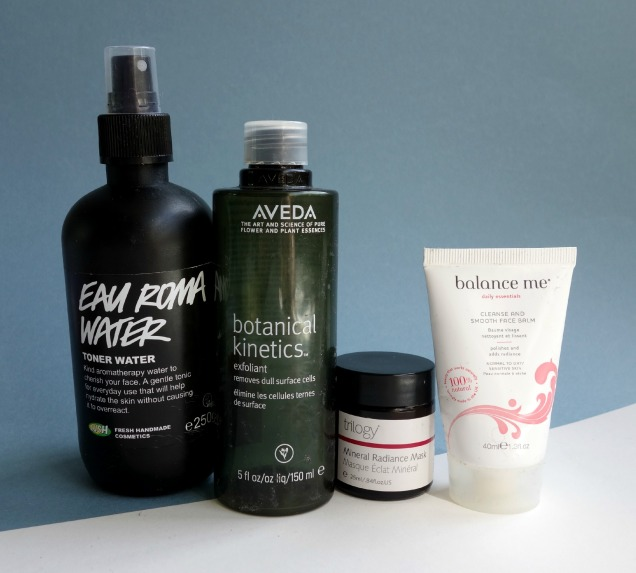 may organic skincare empties