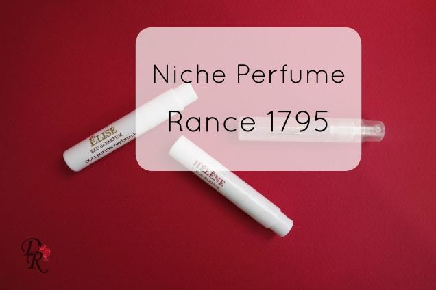 Niche Perfume Rance 1795