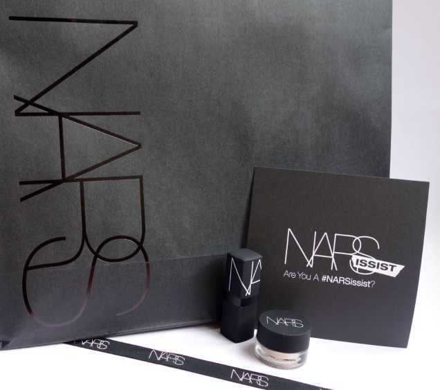 narsissist eye paint porto venere and liguria sheer lipstick nars