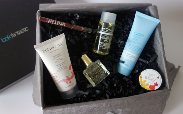 autumn haul look fantastic beauty box july