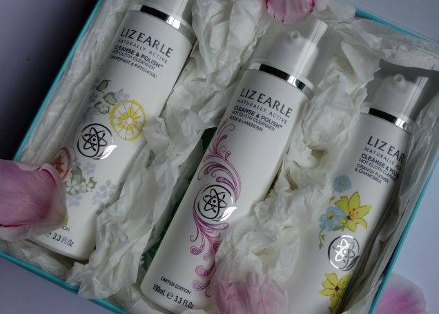 liz earle cleanse&polish cleanser beauty trio limited edition