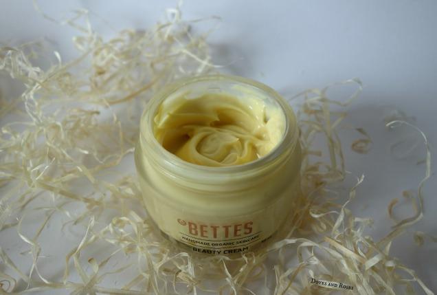 Bettes Handmade Organic Skincare Beauty Cream