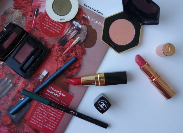 fall makeup favorites by chanel, charlotte tilbury, H&M, catrice, essence