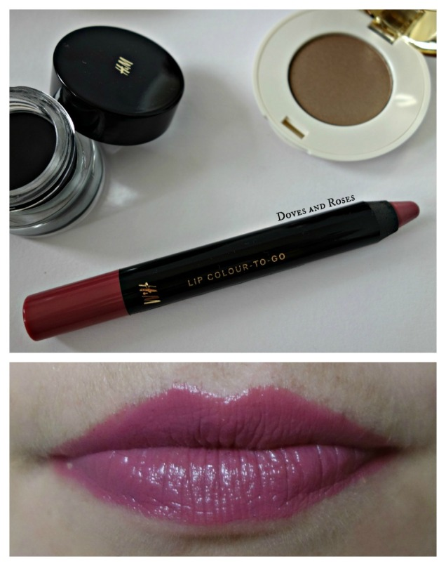 H&M Lip Colour-To-Go in Bonne Vivante mauve lippy