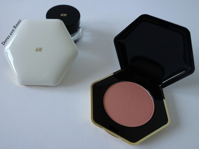 HM Pure Radiance Powder Blusher Apricot budget blush
