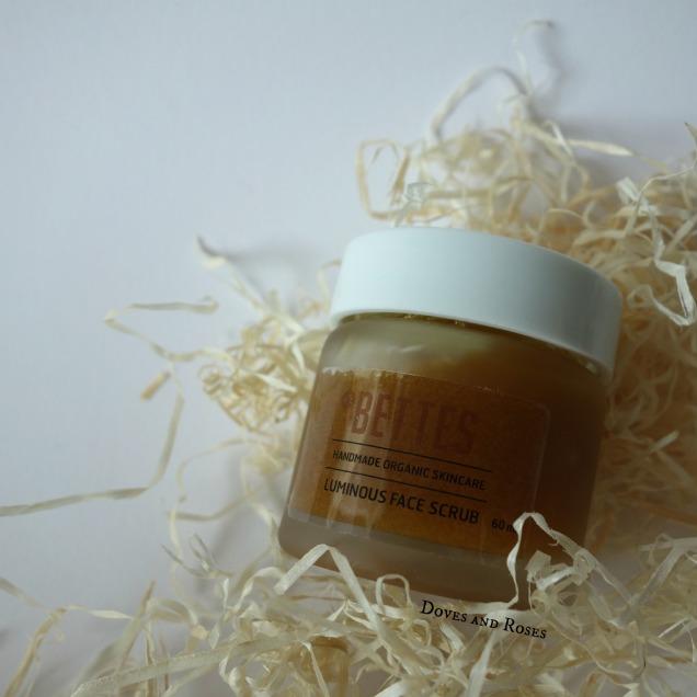 Bettes Handmade Organic Skincare Luminous Face Scrub