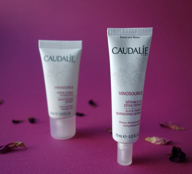 Caudalie Vinosource Moisturizing Sorbet and SOS Thirst Quenching Serum