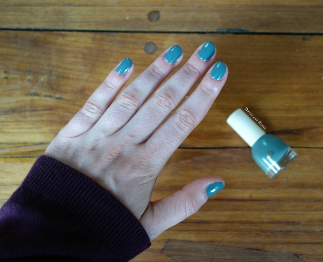 H&M Faded Myrtle Nail Polish Nagellak