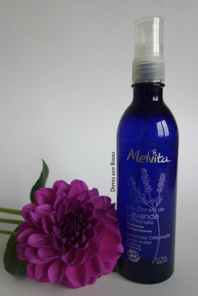 Melvita Lavender floral water toner natural