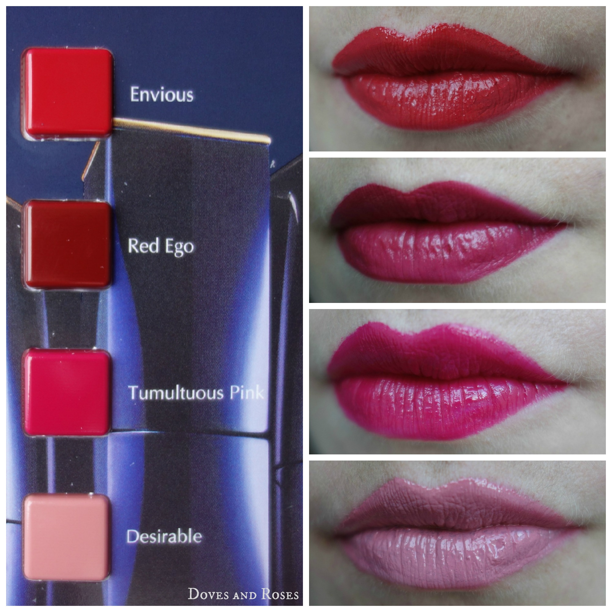 Pure Color Envy by Estee Lauder – Doves and Roses