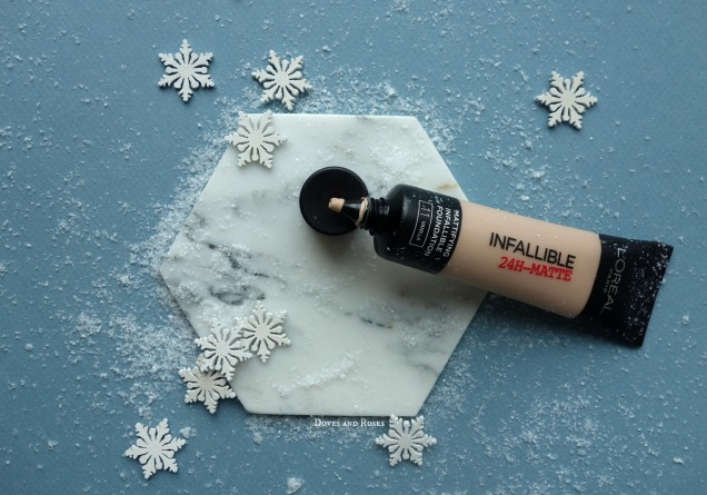 Loreal Infallible Matte foundation makeup base teint