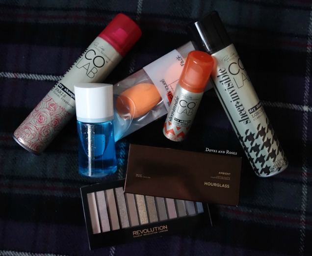 edinburgh mini haul with colab hourglass real techniques