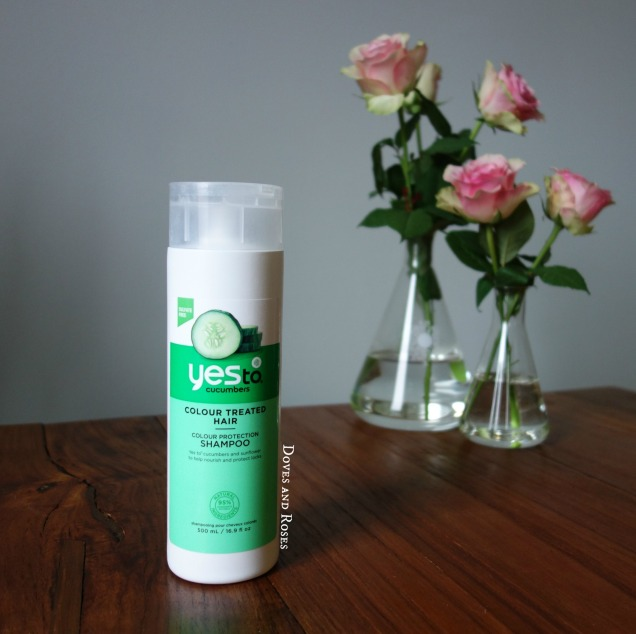 Yes to Cucumber Colour Protection Shampoo natural haircare