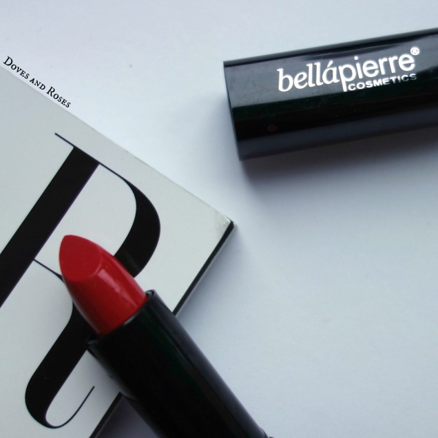 Bellapierre Cosmetics Natural Mineral Lipstick Ruby Red