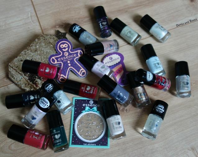 Essence Advent Calender nail polish top coats