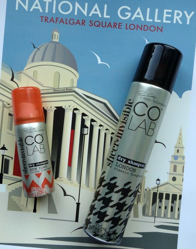 Colab Sheer Invisible Dry Shampoo London and New York (1)