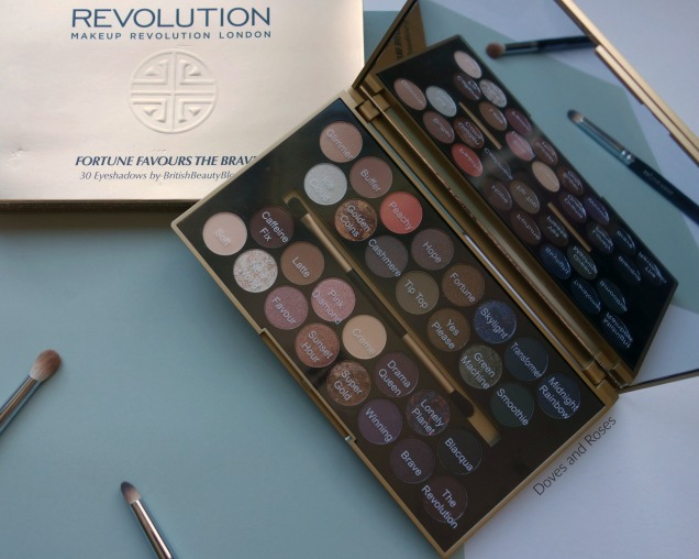 Makeup Revolution Fortune Favours the Brave Eyeshadow Palette (4)