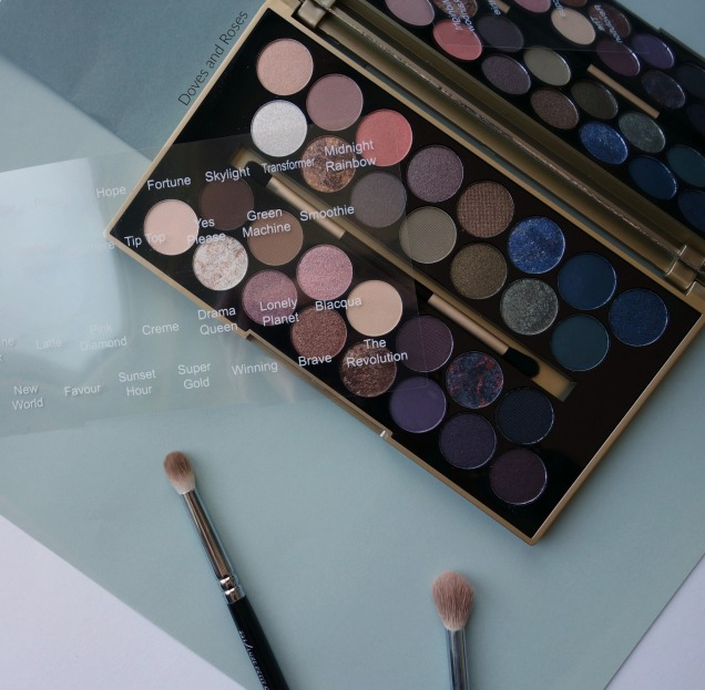 Makeup Revolution Fortune Favours the Brave Eyeshadow Palette (5)