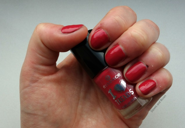 NOTW Essence from me to you darker coral polish
