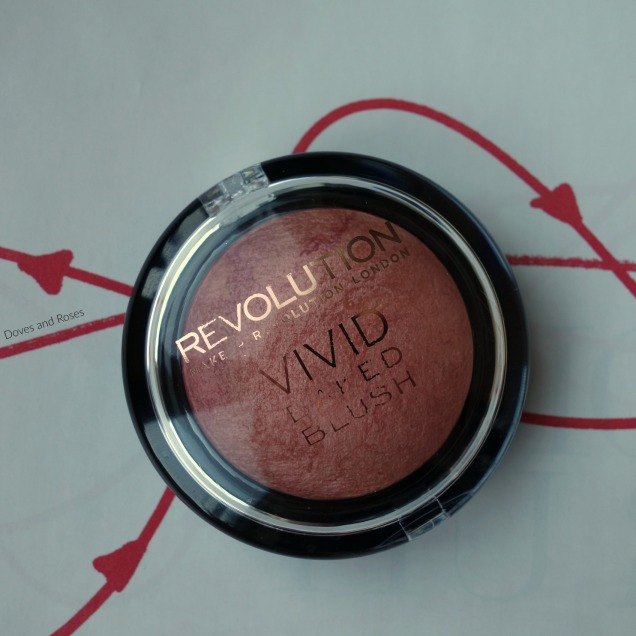 Makeup Revolution Vivid Baked Blusher Make Love Instead
