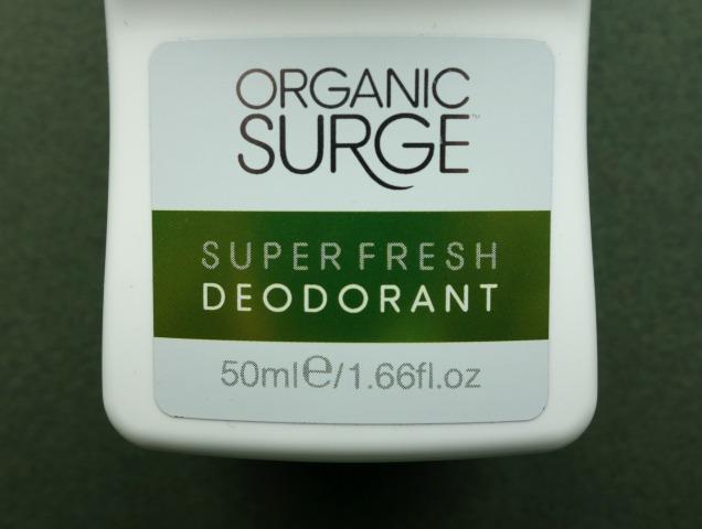 Organic Surge Superfresh Deodorant