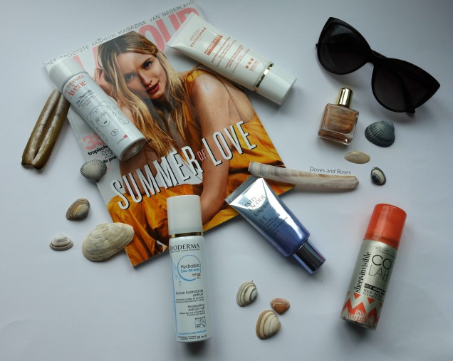 summer edit with avene, colab, nuxe, bioderma, estee lauder and institut esthederm