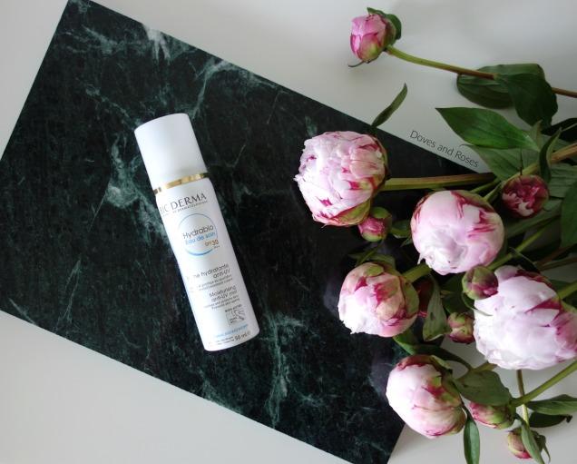 bioderma hydrabio eau de soin spf 30 moisturising anti-UV mist