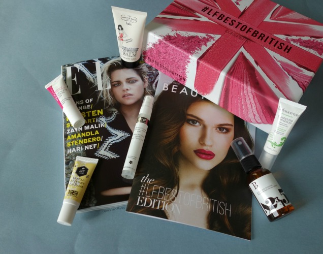 Look Fantastic Best of British Beauty Box August