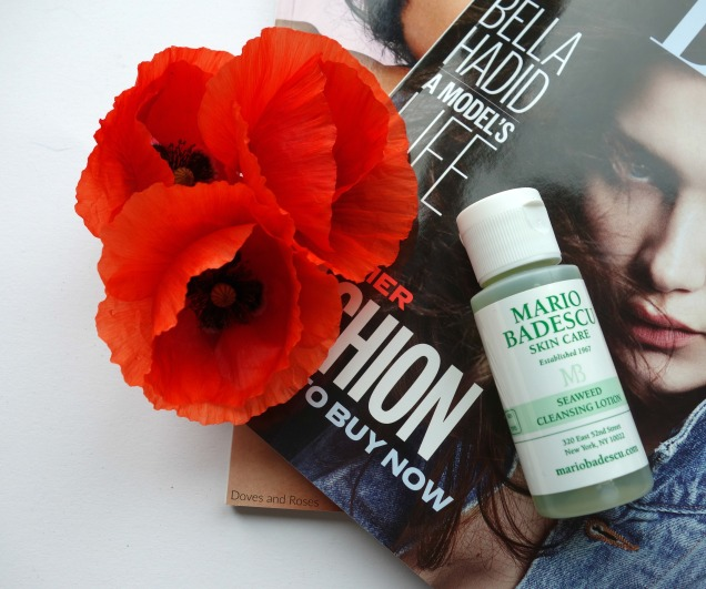 Mario Badescu Seaweed Cleansing Soap and Lotion