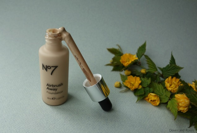 Boots No7 airbrush away foundation calico