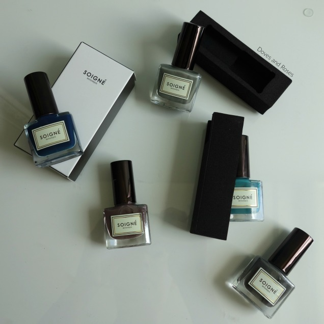Soigne botanique five free nail polish haul